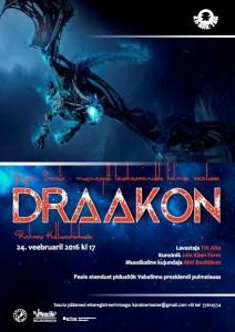 Draakoni plakat